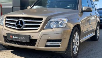 Chiptuning w Mercedesie GLK 220 CDI 4Matic