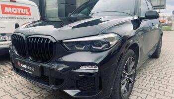 Aktywny wydech w BMW X5 40D