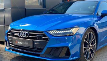 Aktywny wydech w Audi A7 C8 4K