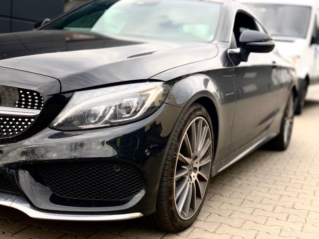 Mercedes W205 aktywny wydech