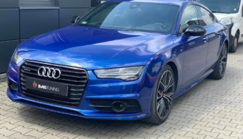 Chiptuning i aktywny wydech w Audi A7 Competition