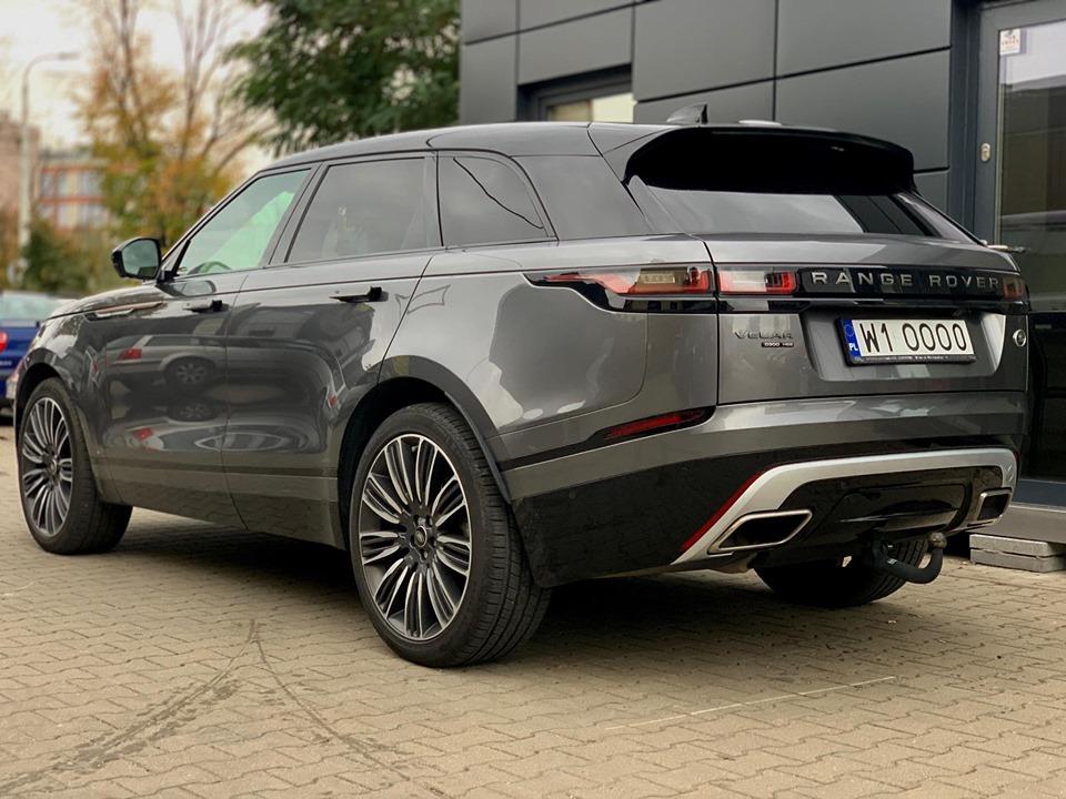 Aktywny wydech Range Rover Velar