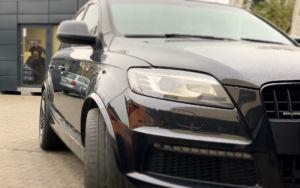 Audi Q7 aktywny wydech