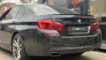 Chiptuning w modelu BMW M550D