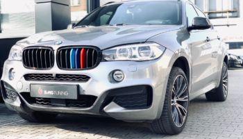 Aktywny wydech w BMW X6 40D 313 HP 2018
