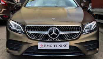 Aktywny wydech w Mercedesie E350 W213