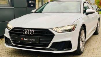 Aktywny wydech w Audi A7 45 TDI