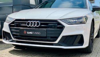 Aktywny wydech w Audi A7 55 TFSI