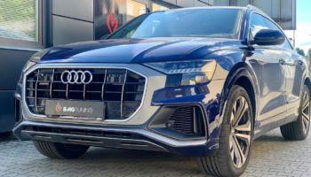 Chiptuning i aktywny wydech w Audi Q8 50 TDI