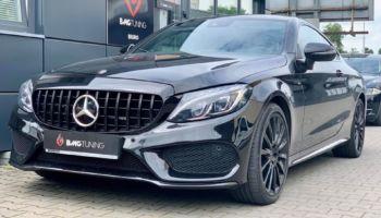 Aktywny wydech w Mercedesie C43 AMG Coupe