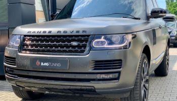 Aktywny wydech w Range Rover