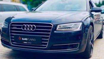 Tuning Audi A8 D4 4.2, czyli chiptuning + aktywny wydech