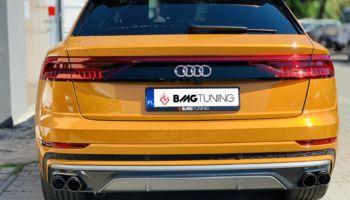 Aktywny wydech w Audi Q8