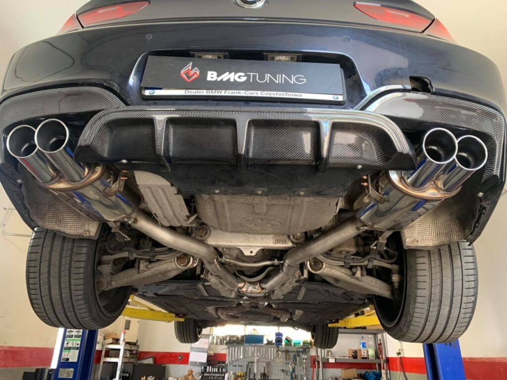 bmw f06 650i chiptuning and sport exhaust supersprint