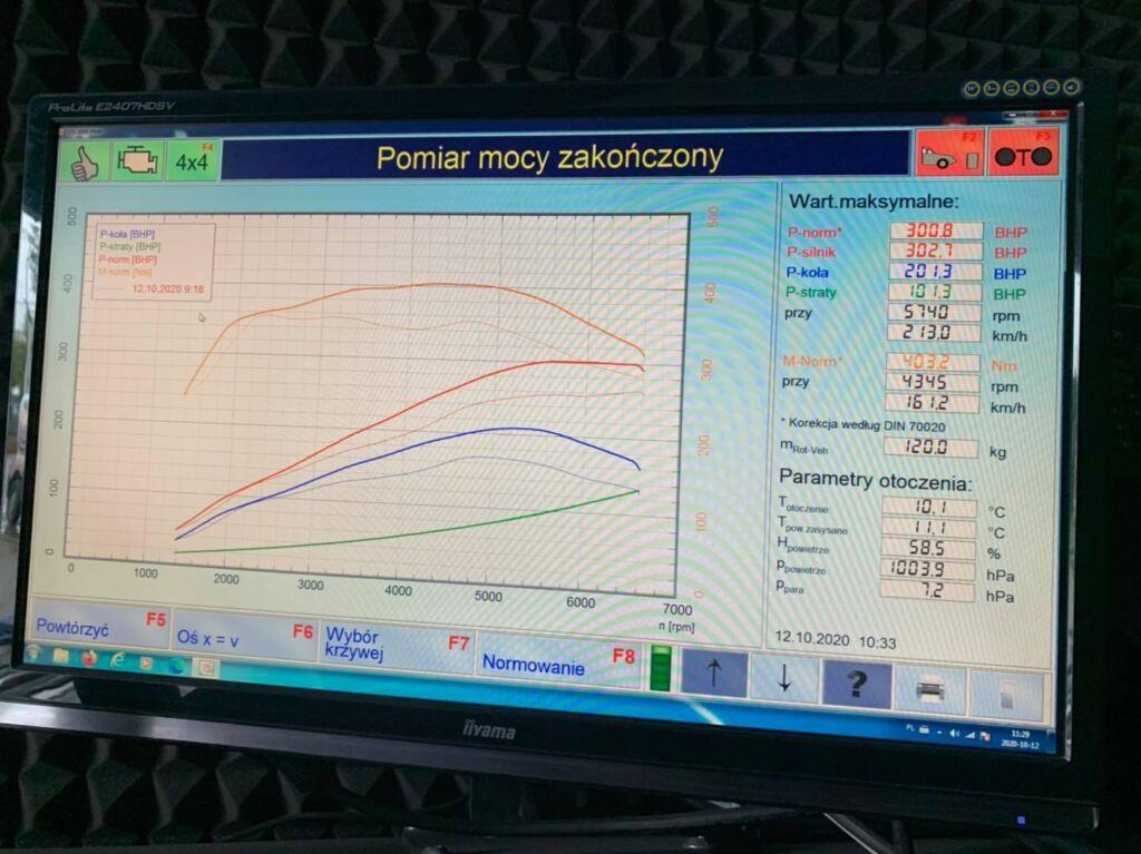 chip tuning audi 252 hp