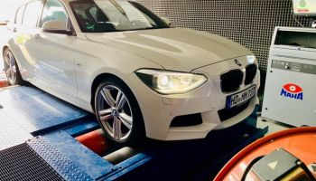 Chiptuning BMW 120D 184 HP