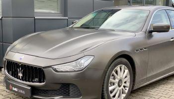 Chiptuning w Maserati Ghibli 3.0 diesel 275 HP