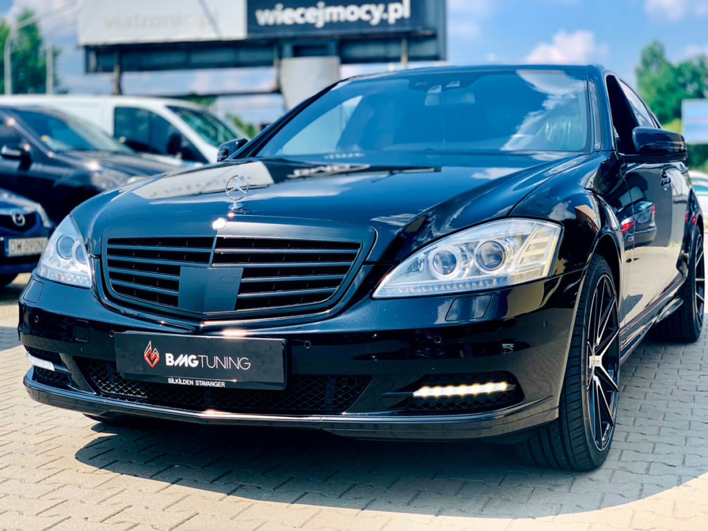 mercedes s400 w221 tuning