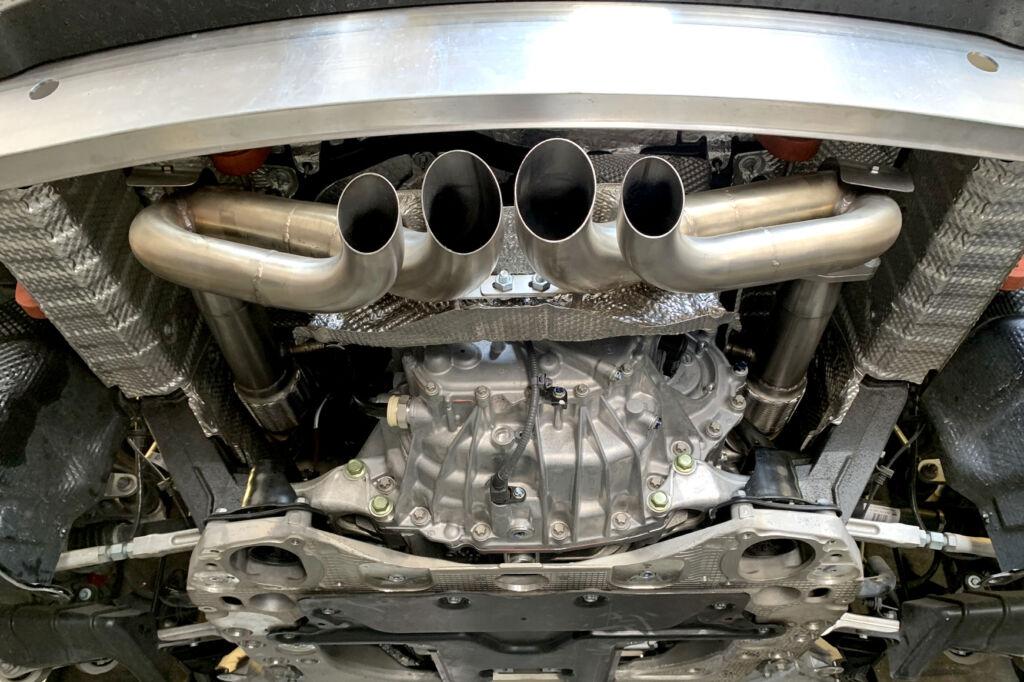 quicksilver exhaust