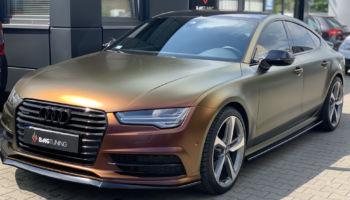 Aktywny wydech w Audi A7